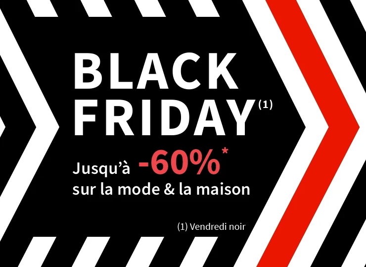 balck friday la redoute 2019