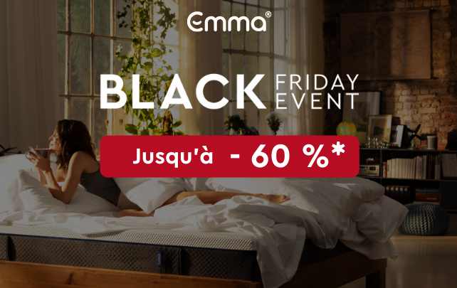emma matelas code promo 60% black friday
